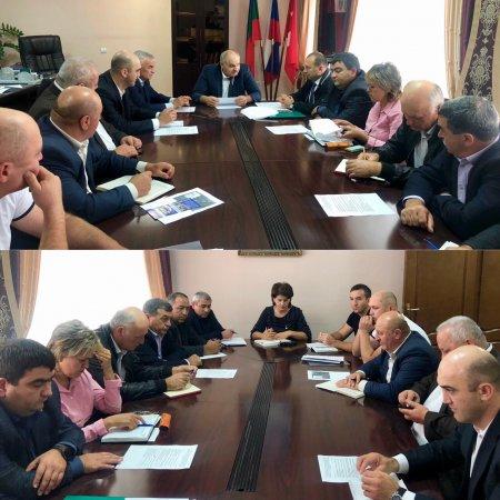 В администрации Абазинского муниципального района прошло очередное выездное совещание по вопросу организации работы с региональным оператором по вывозу ТКО